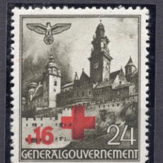 Francobolli: POLONIA OCUPACION ALEMANA II WW , 1940 , STAMP, MICHEL 53, MNH. Lote 238775465