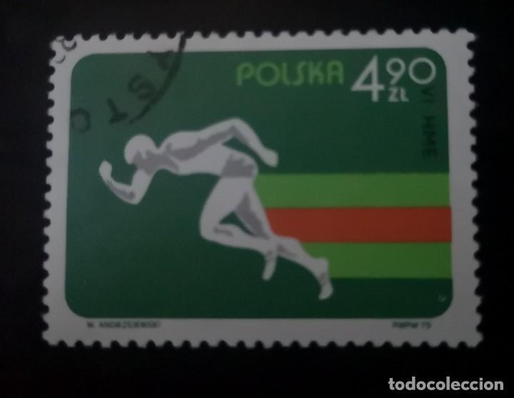 POLONIA - AÑO 1975 - CAMPEONATO DE EUROPA DE ATLETISMO EN SALA (Sellos - Extranjero - Europa - Polonia)