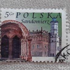 Sellos: SELLO POLSKA SANDOMIERZ 5 GR 2004. Lote 241315880