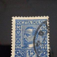 Sellos: POLONIA 15 GR. HENRYK SIENKIEWCZ AÑO 1930.. Lote 253014640