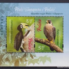 Sellos: ⚡ DISCOUNT POLAND 2019 BIRDS - JOINT ISSUE WITH SINGAPORE MNH - BIRDS, JOINT ISSUE. Lote 255657005