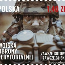 Sellos: ⚡ DISCOUNT POLAND 2021 TERRITORIAL DEFENSE FORCES MNH - WEAPON, MILITARY. Lote 255657025