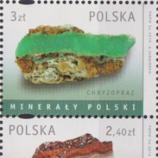 Sellos: ⚡ DISCOUNT POLAND 2010 MINERALS OF POLAND MNH - MINERALS. Lote 255657090