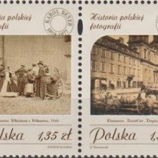 Sellos: ⚡ DISCOUNT POLAND 2008 THE HISTORY OF POLISH PHOTOGRAPHY MNH - THE PHOTO. Lote 255657105
