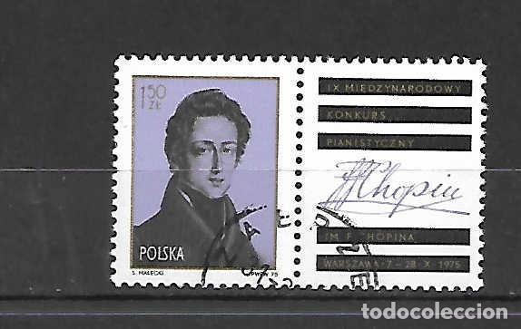 CHOPION, F. PIANISTA Y COMPOSITOR POLACO. SELLO AÑO 1975 (Sellos - Extranjero - Europa - Polonia)