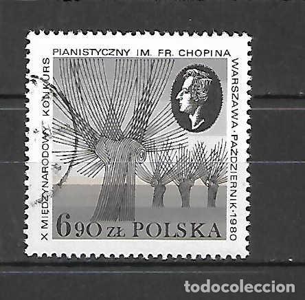 CHOPÍN: CONCURSO X DE VIOLÍN , EN VARSOVIA. SELLO AÑO 1980 (Sellos - Extranjero - Europa - Polonia)