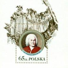 Sellos: ⚡ DISCOUNT POLAND 1985 THE 300TH ANNIVERSARY OF THE BIRTH OF JOHANN SEBASTIAN BACH MNH - COM. Lote 262869400