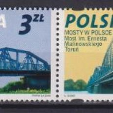 Sellos: ⚡ DISCOUNT POLAND 2008 POLISH BRIDGES MNH - BRIDGES. Lote 262869510