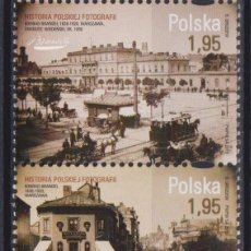 Sellos: ⚡ DISCOUNT POLAND 2012 THE HISTORY OF POLISH PHOTOGRAPHY MNH - THE PHOTO. Lote 262869595