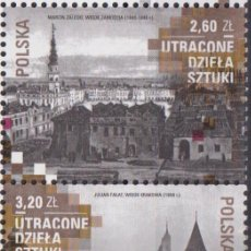 Sellos: ⚡ DISCOUNT POLAND 2018 LOST WORKS OF ART MNH - ART. Lote 262869700