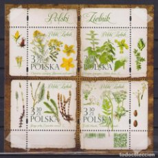 Sellos: ⚡ DISCOUNT POLAND 2020 POLISH HERBARIUM MNH - FLOWERS. Lote 262869930