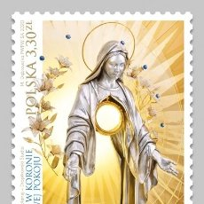 Sellos: ⚡ DISCOUNT POLAND 2020 THE 12 STARS IN THE CROWN OF THE QUEEN OF PEACE MNH - RELIGION. Lote 262869955