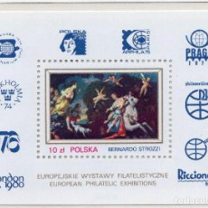 Sellos: POLONIA , 1979 STAMP , MICHEL BL78. Lote 269691528