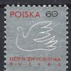 Sellos: POLONIA 1966 - MONUMENTO AL DÍA DE LA VICTORIA - MNH**. Lote 274896563