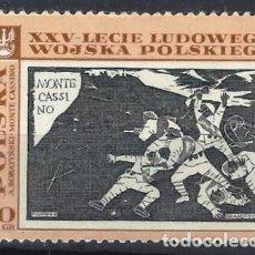 Sellos: POLONIA 1968 - 25º ANIV. DEL EJÉRCITO POPULAR DE POLONIA - MNH**. Lote 274897088