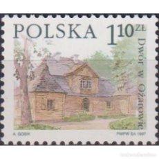 Sellos: PL3657 POLAND 1997 MNH POLISH MANOR HOUSES. Lote 287535508