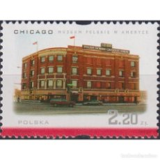 Sellos: PL3898-2 POLAND 2001 MNH POLONICA - POLISH MUSEUM IN CHICAGO. Lote 287537543