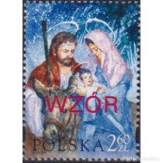 Sellos: PL4089-2 POLAND 2003 MNH CHRISTMAS 2003 - WZOR OVERPRINT. Lote 287537558