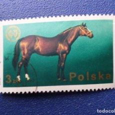 Sellos: *POLONIA, 1975, 26 CONGRESO FEDERACION ZOOTECNICA EUROPEA, YVERT 2221. Lote 289338978