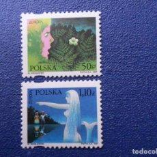 Sellos: *POLONIA, 1997, EUROPA, CUENTOS Y LEYENDAS, YVERT 3430/1. Lote 289413888