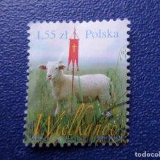 Sellos: *POLONIA, 2010, PASCUA, YVERT 4199. Lote 289417258