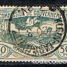 Sellos: COMMISION DE GOUVERNEMENT (ALTA SILESIA, GUERRA CIVIL (1919-1921) Nº 22, PAISAJE Y PALOMA DE LA PAZ,. Lote 289572523