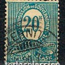 Sellos: COMMISION DE GOUVERNEMENT (ALTA SILESIA, GUERRA CIVIL (1919-1921) Nº 6, CIFRA DE VALOR. Lote 289573003