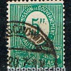 Sellos: COMMISION DE GOUVERNEMENT (ALTA SILESIA, GUERRA CIVIL (1919-1921) Nº 3, CIFRA VALOR. Lote 289573093