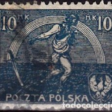 Sellos: 1921 - POLONIA - AGRICULTURA - SIEMBRA - YVERT 224. Lote 289809883