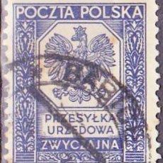Sellos: 1935 - POLONIA - SELLO DE SERVICIO - YVERT 19. Lote 289813523