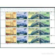 Sellos: ⚡ DISCOUNT POLAND 2008 POLISH BRIDGES MNH - BRIDGES. Lote 289925833
