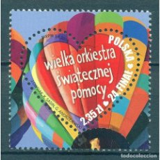 Sellos: ⚡ DISCOUNT POLAND 2016 24TH GRAND CHRISTMAS ORCHESTRA GRAND FINALE MNH -. Lote 289926448
