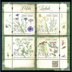Sellos: ⚡ DISCOUNT POLAND 2017 FLORA - POLISH HERBARIUM MNH - FLOWERS. Lote 289926633