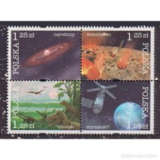 Sellos: PL4168 POLAND 2004 MNH COSMIC HISTORY OF THE EARTH. Lote 293378383