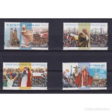 Sellos: PL3774 POLAND 1999 MNH SIXTH VISIT OF POPE JOHN PAUL II TO POLAND. Lote 293403063