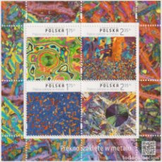 Sellos: PL4792ML POLAND 2015 MNH ENCHANTED BEAUTY IN METAL. Lote 293410998