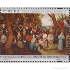 Sellos: PL5175 POLAND 2019 MNH EUROPEAN ART IN POLISH COLLECTIONS. Lote 293411173