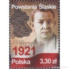 Sellos: PL5305 POLAND 2021 MNH SILESIAN UPRISINGS. Lote 293411483