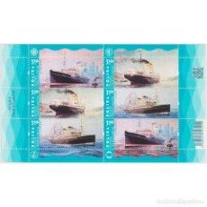 Sellos: PL5325ML POLAND 2021 MNH POLISH TRANSATLANTIC SHIPS. Lote 293412183