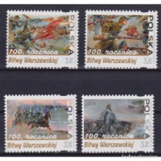 Sellos: PL5225 POLAND 2020 MNH 100TH ANNIVERSARY OF THE BATTLE OF WARSAW. Lote 293404543