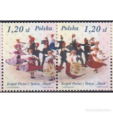 Sellos: PL4082-2 POLAND 2003 MNH THE 50TH ANNIVERSARY OF SLASK. Lote 293404893