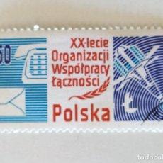 Sellos: SELLO DE POLONIA 1,50 ZT - 1978 - COMUNICACIONES -, USADO SIN SEÑAL DE FIJASELLOS. Lote 294831618