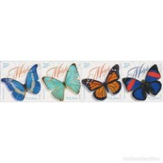 Sellos: ⚡ DISCOUNT POLAND 2020 INSECTS - BUTTERFLIES MNH - BUTTERFLIES. Lote 296061198