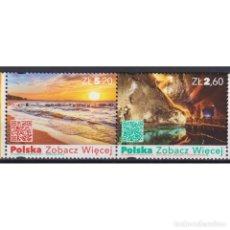Sellos: ⚡ DISCOUNT POLAND 2018 TOURISM - POLAND MNH - NATURE, TOURISM. Lote 296061208