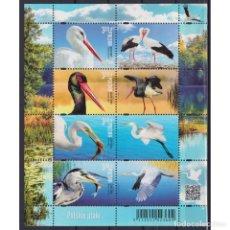 Sellos: ⚡ DISCOUNT POLAND 2020 POLISH BIRDS MNH - BIRDS. Lote 296061243