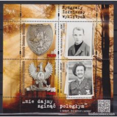 Sellos: ⚡ DISCOUNT POLAND 2020 GORGETS OF CURSED SOLDIERS MNH - MEDALS. Lote 296061273