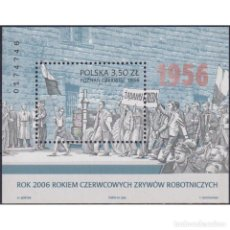 Sellos: ⚡ DISCOUNT POLAND 2006 WORKERS REVOLT MNH - REVOLUTION, WORKERS. Lote 296063653