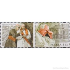 Sellos: ⚡ DISCOUNT POLAND 2020 THE 100TH ANNIVERSARY OF THE BIRTH OF POPE JOHN PAUL II MNH - RELIGIO. Lote 296063663