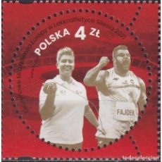 Sellos: ⚡ DISCOUNT POLAND 2021 EUROPEAN ATHLETICS TEAM CHAMPIONSHIPS SILESIA MNH - SPORT, ATHLETICS. Lote 296063688