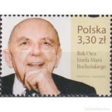 Sellos: ⚡ DISCOUNT POLAND 2020 THE YEAR OF FATHER JOZEF MARIA BOCHENSKI MNH - CELEBRITIES. Lote 296063713
